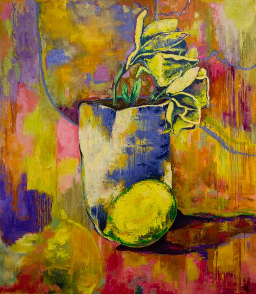 Margaret Zox Brown's Large and Vibrant Paintings Portray Iconic Imagery!