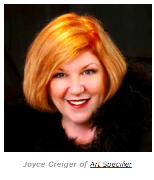 Carolyn Graham Edlund, the founder of Artsy Shark Asks Joyce Creiger from ArtSpecifier to Curate a Group of Artists on Her Website !